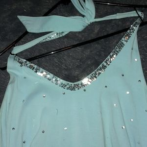 Maurice's large just be you halter top.